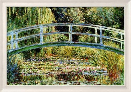 Le pont japonais à Giverny Affiche par Claude Monet sur AllPosters.fr