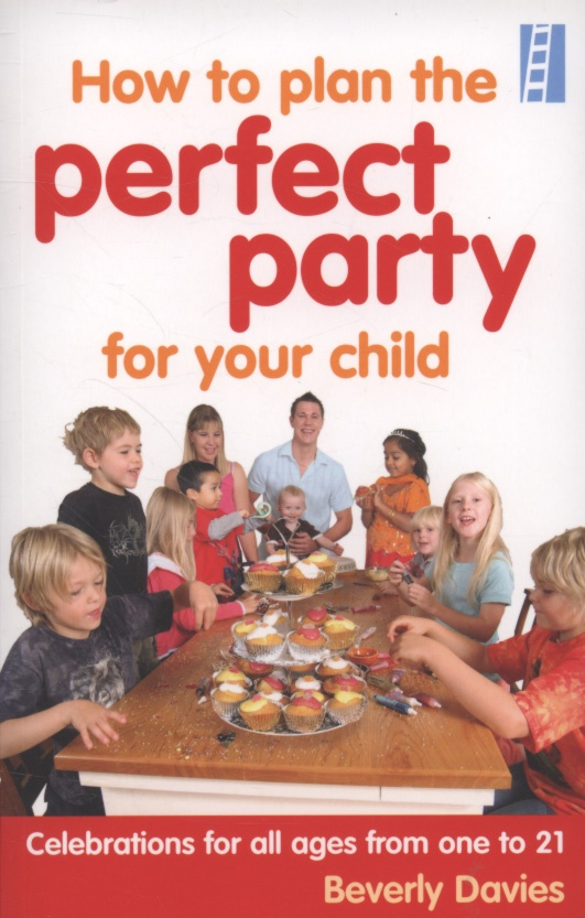 How to plan the perfect party for your child : celebrations for all ages from one to 21 by Beverley Davis. White Ladder. 2008.  It is packed with ideas and tips, from how best to entertain each age group through to how to stop the furniture getting stained with drink spills, whether you're on a budget or splashing out. Find this book in your local library: http://trove.nla.gov.au/work/33688227