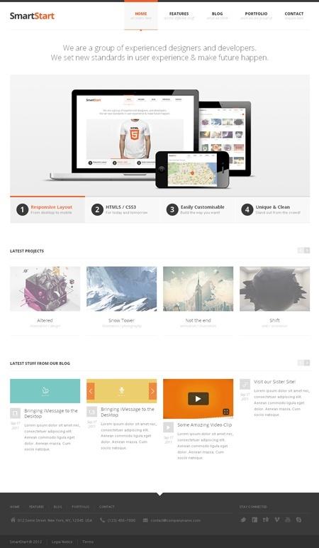 Simple, Clean #Web #Design