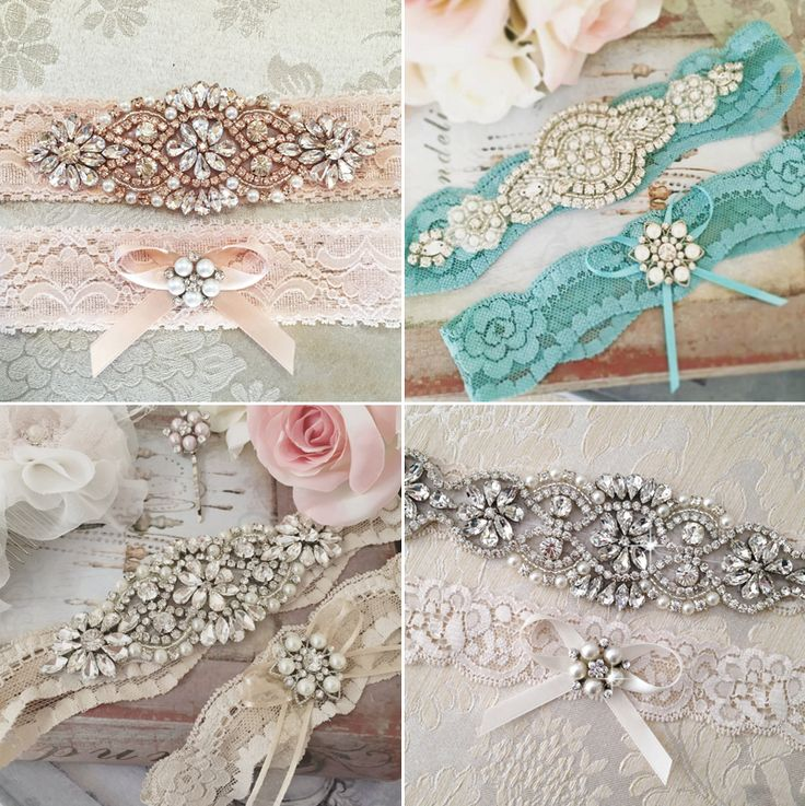 37 Utterly Romantic Wedding Garters!