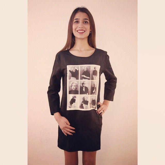 Robe Marilyn bientôt dispo 25,9o €  #marilynmonroe #robe #daim #mode #style #fahion #girl #zonedachat #classe