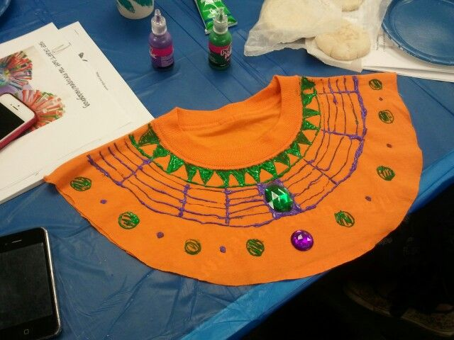 Ancient Egyptian Collar Craft