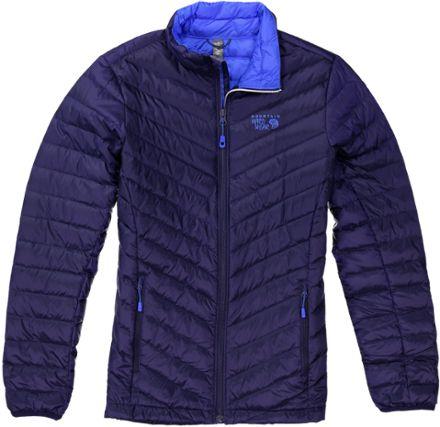 Mountain Hardwear Women's Micro Ratio Down Jacket Indigo Blue XS