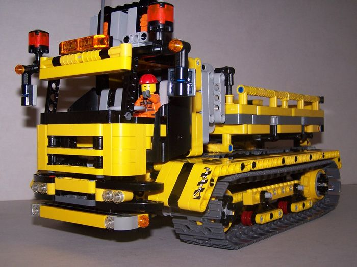 8043, 8265 Track dumper MOC - LEGO Technic, Mindstorms & Model ...