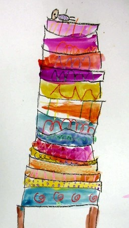 The Princess and the Pea.  Good sub plan (lesson plan included).