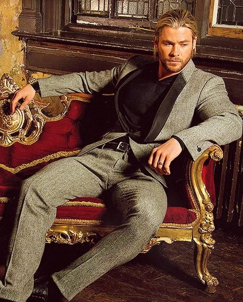 Chris Hemsworth...Love a man in a suit and he just makes it look even more spectacular!!!