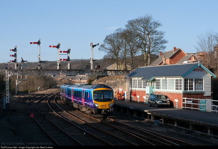 RailPictures.Net Photo: 130 First Trans Pennine Express 185 at Scarborough, United Kingdom by Jan-Geert Lukner