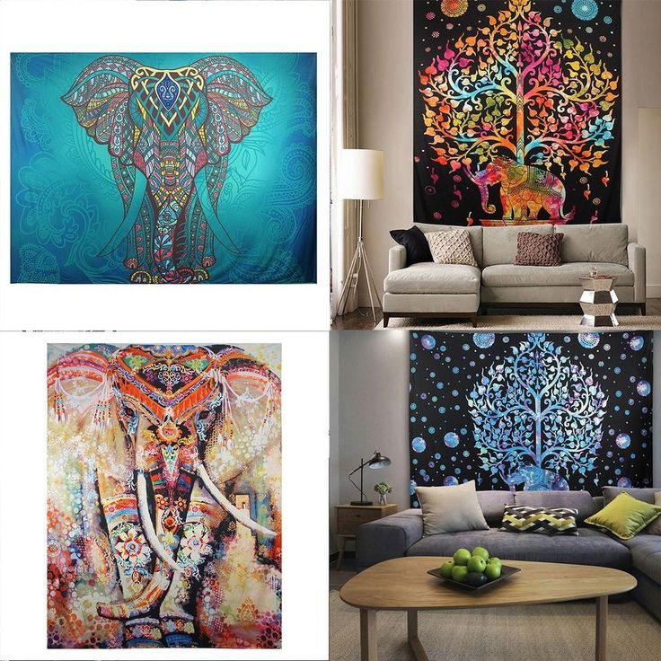 Function: Tapestry, Wall Decor, Beach Scarf, Picnic/Yoga Mat, Bedspread, etc. Quantity: 1pc tapestry only, any other accessories not included. 1 x Tapestry. Style: National Style. Material: Polyester. | eBay!