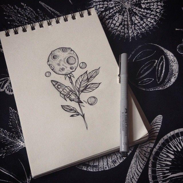 #спб #татуспб #эскиз#эскизлуна#луна#ракетатату#ракета#spaceship#moon#moontattoo#sketch #sketchtattoo #dotwork #dotworktattoo #black #branch #branchsketch#art#tattooartist