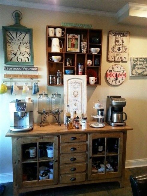 Pin By Lashawne Hansen On Time To Pause Coffee Bar Home Diy Coffee Bar Coffee Station Kitchen