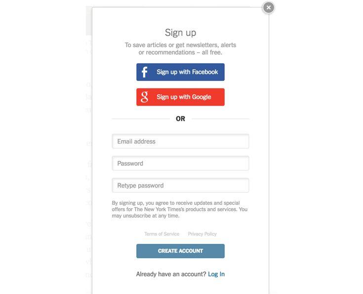 возможность регистрации и входа через аккаунты в социальных сетях —Facebook, Google