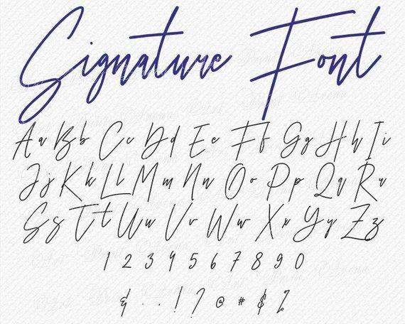 Download Thin Svg Font Signature SVG fonts wedding handwritten ...