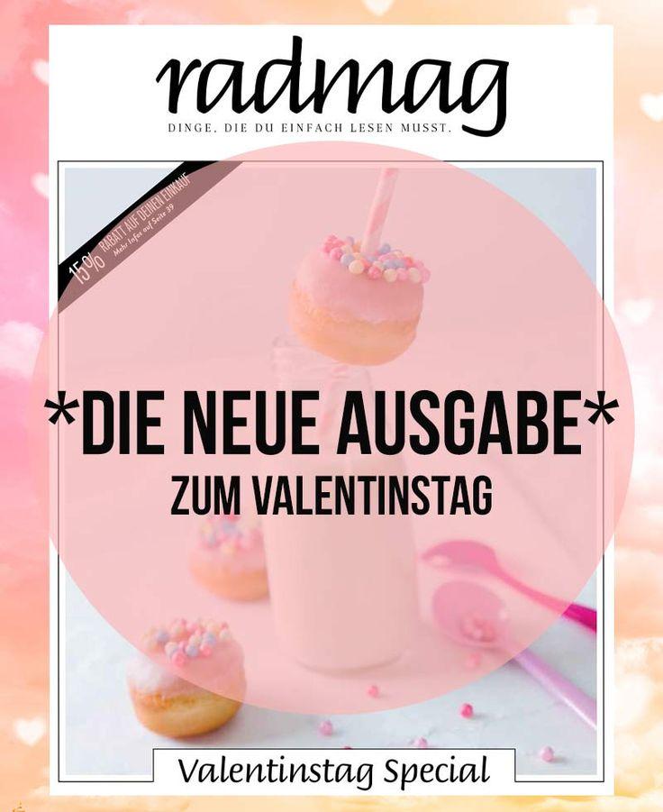 Hier ist sie: Die neue radmag-Ausgabe zum Valentinstag