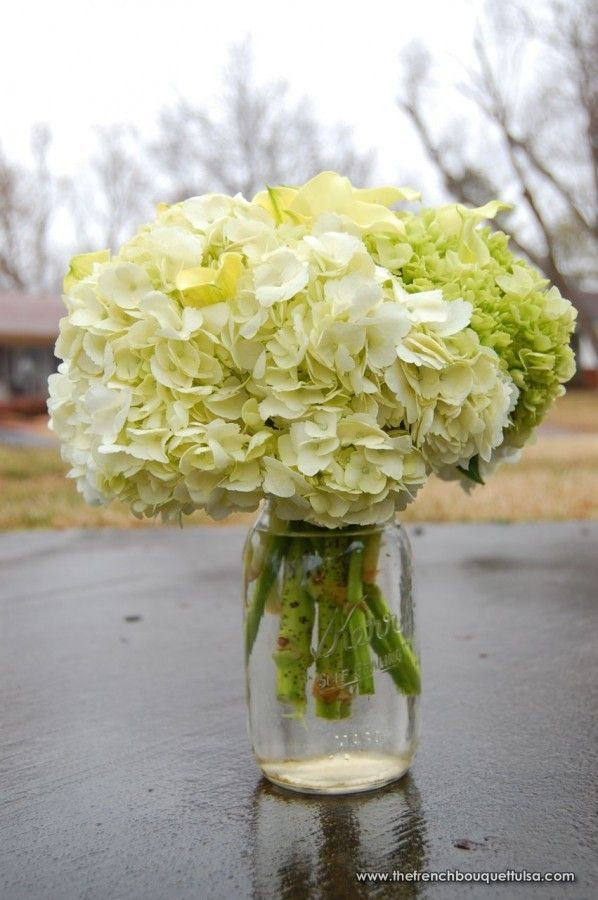 Ideas about mason jar hydrangea on pinterest