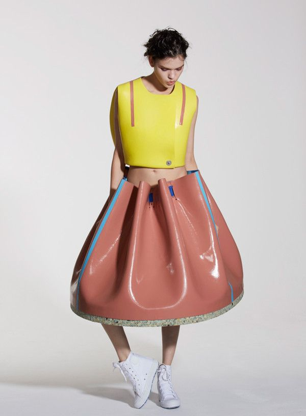 University of Westminster graduate Valeska Jasso Collado was inspired by the color, finish and form of Memphis furniture