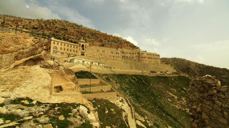 Christians fleeing Iraq/ On the side of a mountain, overlooking the Nineveh Plains of ancient Mesopotamia, is the Monastery of St. Matthew. It's one of the oldest on earth. matthew.jpg