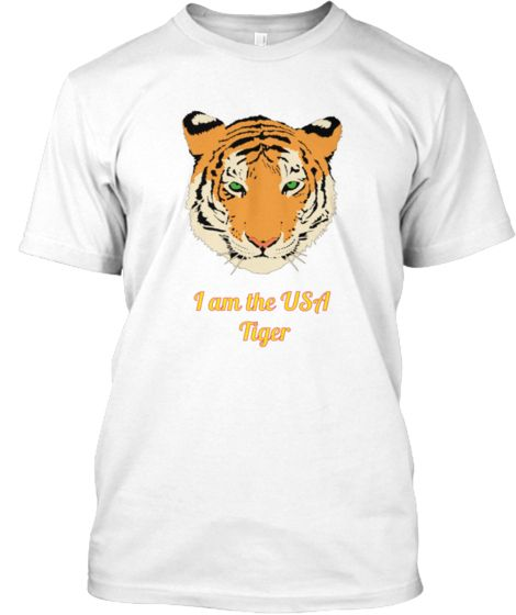I am The USA Tiger | Teespring