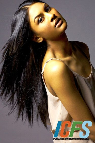 International Canadian Fashion Showcase Model Samantha T