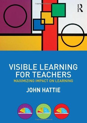 Visible Learning for Teachers: Maximizing Impact on Learning by John Hattie, http://www.amazon.com/dp/0415690153/ref=cm_sw_r_pi_dp_Kkm9pb1C23F1Y