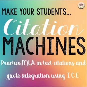 In-Text Citation Practice - Citation Machines