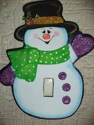 Resultado de imagen para adornos de navidad en foami para puertas