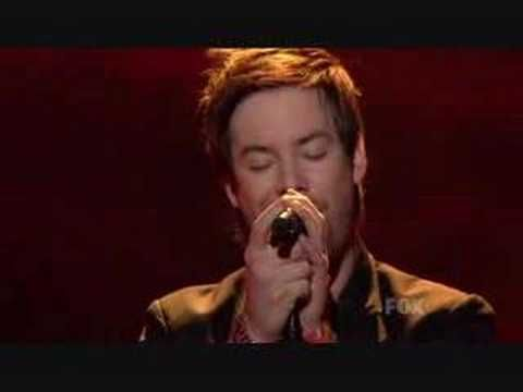 Greatest Performances....The First Time Ever I Saw Your Face - David Cook [HQ]