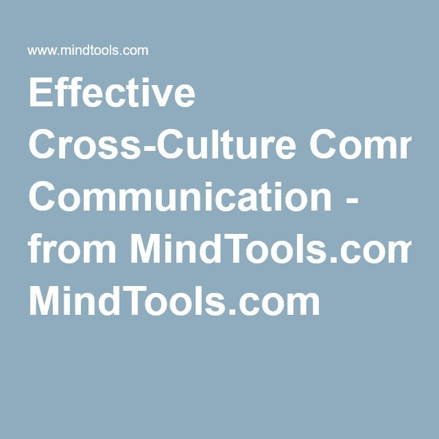 Effective Cross-Culture Communication - from MindTools.com This page offers us tips on how to effectively communicate with people that speak another language