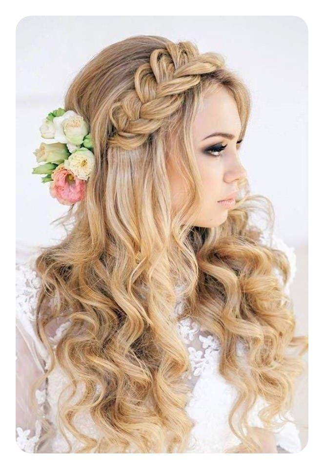 50 Hermosos Peinados Rizos Sueltos Con Tutorial Largo Peinados Peinados Con Trenzas Trenzas Para Novias Peinados De Novia