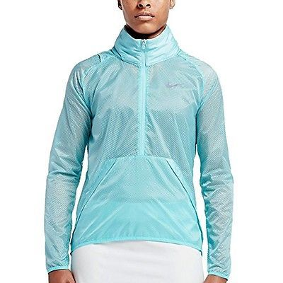 Nike Golf Hyperlite Translucent Half-Zip Women's Jacket 802937 $125 Large