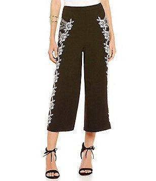 Gianni Bini Esther Embroidered Couloute