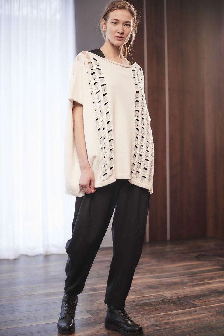 Купить Брюки Большой ромб, шерсть от Lesel (Лесель) российский дизайнер одежды