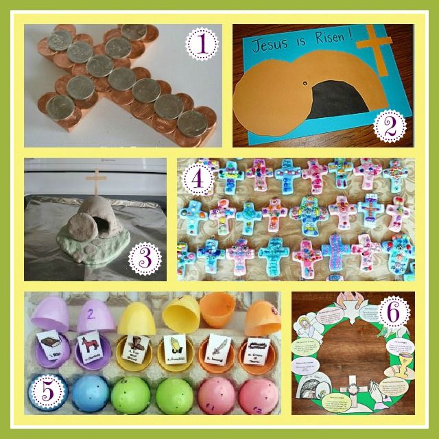 12 Faith-Based Easter Crafts to help you and your family focus on the real reason for the season - our Lord Jesus.