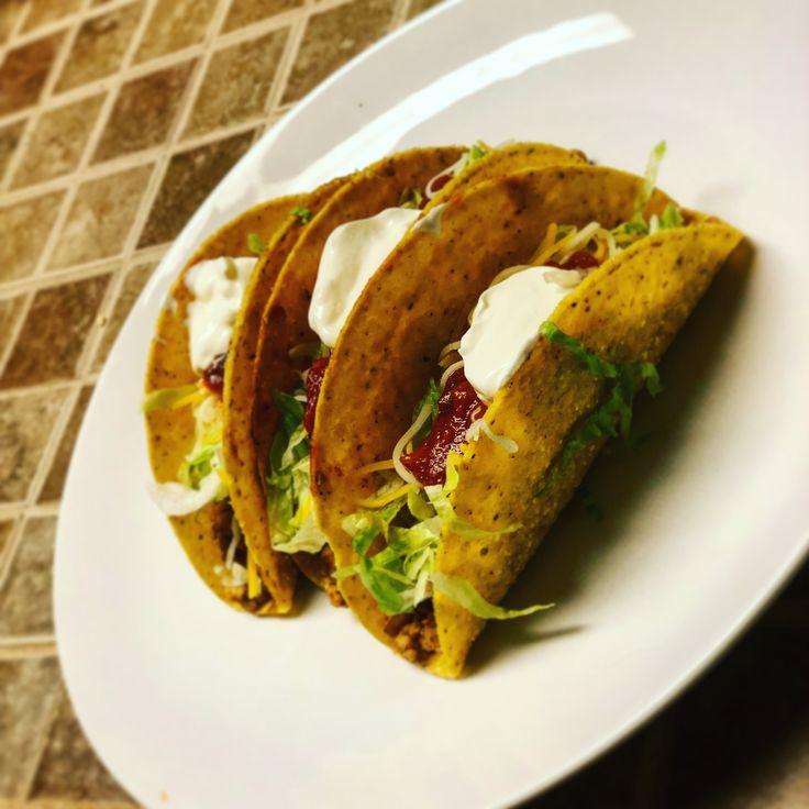 [Homemade] Ground Chicken Tacos