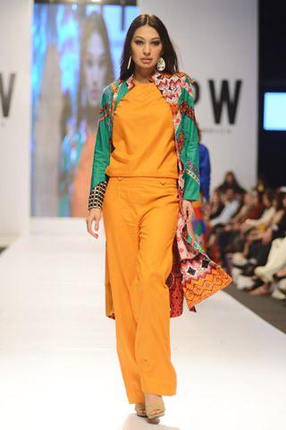 Lala Textiles Collection at Fashion Pakistan Week 2014 Day 1