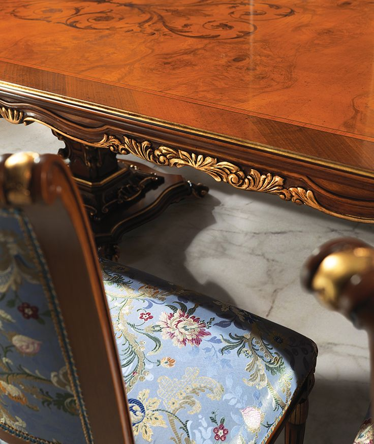 BAROCCI Details of classic luxury dining room