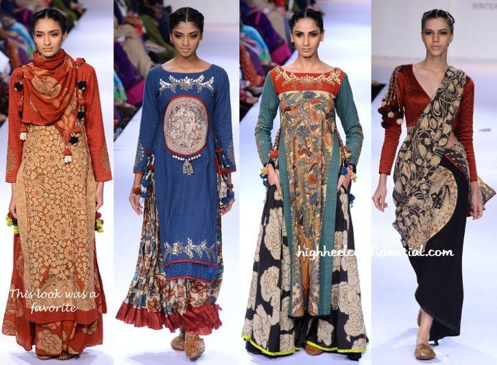 All about the printed look - Lakme Fashion Week Winter:Festive 2014- Sashikant Naidu-1