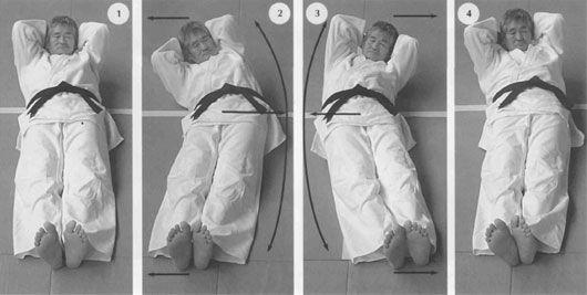 Одно из лучших упражнений для восстановления позвоночника от Кацудзо Ниши - Золотая рыбка