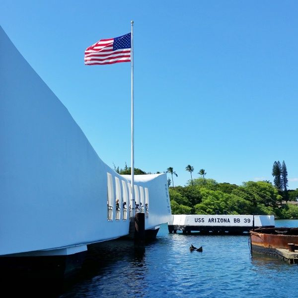 The Pearl Harbor memorial in Hawaii is a top travel bucket list of things to do on Oahu. And as a national monument, it's a sort of national park in Hawaii!