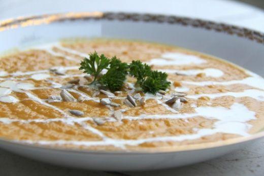 Dýňovo-čočková polévka - Testováno na dětech