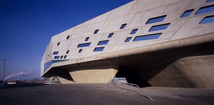 Phaeno Science Centre, Wolfsbur, Germany by Zaha Hadid Architects