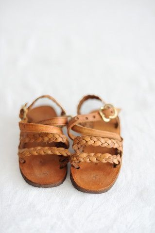 itty bitty little sandals for a baby girl
