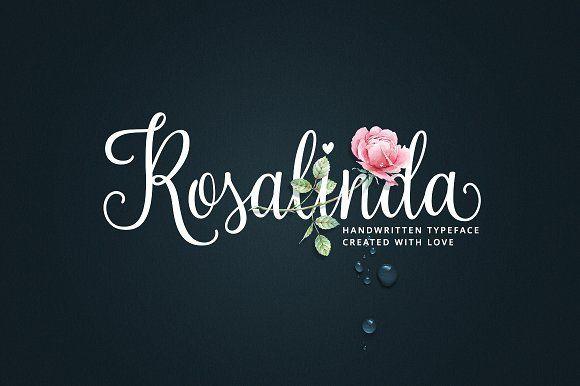 Rosalinda Script by MyCreativeLand on @creativemarket