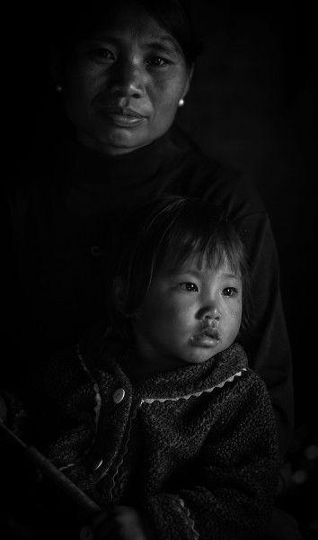 Mom and daughter Nagaland