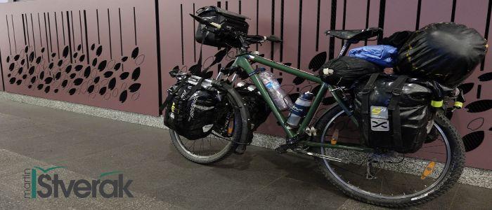 Vybavení které vozím na cyklovýpravě