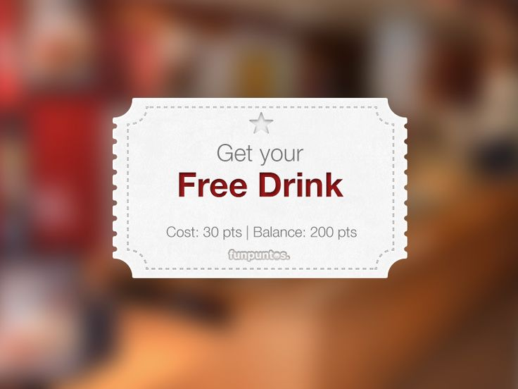 Redeem Coupon by Miguel Olivares