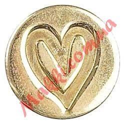 Сургучная печать Manuscript Heart (сердце), 1,9см