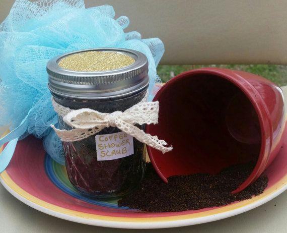 Coffee scrub 8 oz at home spa treatment by SerenityScarvesNStuf