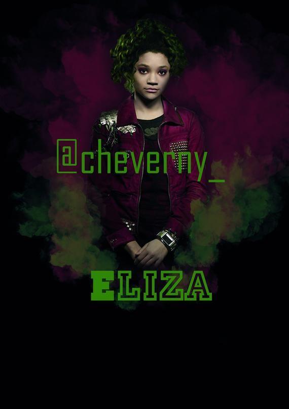 Disney Zombies 2 Poster Eliza In 2020 Zombie Disney Zombie 2 Disney Musical