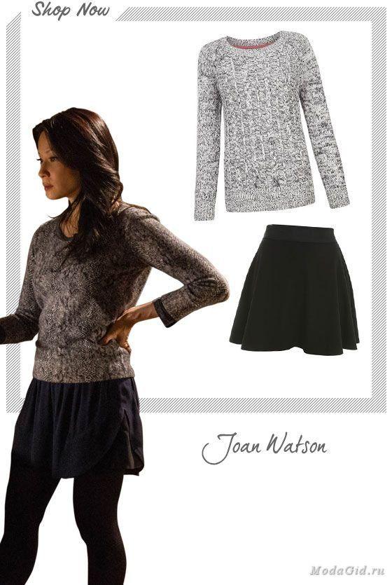 """Предлагаю вашему вниманию обзор стиля героини сериала """"Элементарно"""" - Джоан Ватсон. Посмотрим как героиня Люси Лью воплощает в жизнь классический нью-йоркский стиль и всегда остается модной и молодой."""