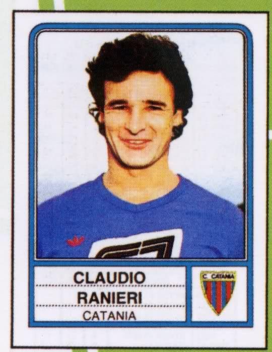 Claudio Ranieri a Catania